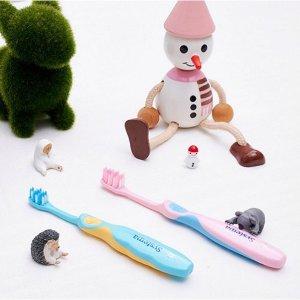 满$307减$27狮王细洁儿童专业护理牙刷2-6岁(颜色随机出货) - 1支