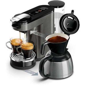 Philips滴滤式+胶囊两用咖啡机