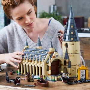 现价 £80.75(原价£89.99)Lego 哈利波特系列 75954 霍格沃茨大礼堂热卖