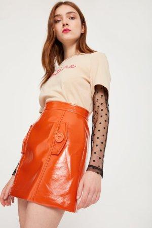 Style Mafia A-Line Patent Skirt