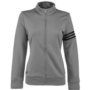 adidas Golf Women's Climalite 3-Stripe Full Zip Jacket