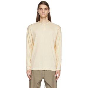 Essentials灰白色保暖针织衫