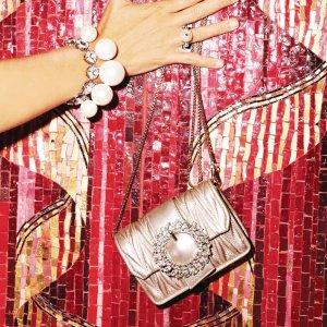4折起+满额最高75折 £374收新款水桶包Miu Miu 限时大促 新款美包美鞋买起来