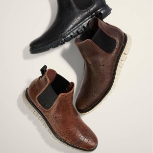 精选鞋履5折 平底鞋$60收Cole Haan 全场鞋履促销 黑五好价提前收