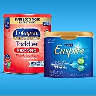 赢价值$7.5万林肯汽车大奖买Amazon Enfamil 婴幼儿配方奶粉,可参加抽奖活动