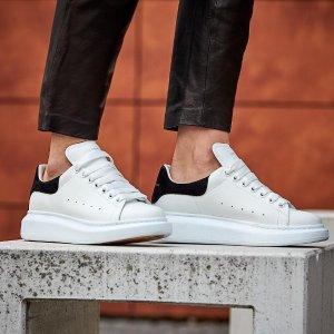 低至4折 白菜价收人气单品Alexander McQueen 麦昆小白鞋2021最全汇总 增高显瘦就靠它