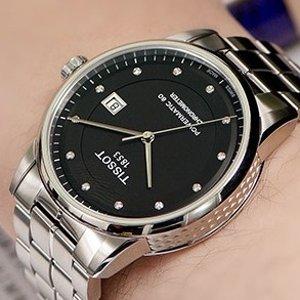 史低价 $399 国内公价¥ 925011.11独家:TISSOT Luxury 系列镶钻机械时装男表特卖