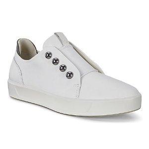 ECCO软皮小白鞋