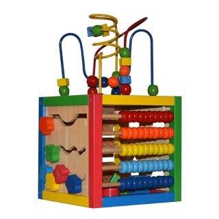 $23.99(原价$59.99) STEM学习玩具Play22 儿童早教五面体玩具,计数早掌握