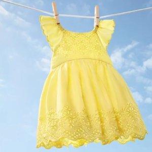 3折起+额外5折 火烈鸟上衣$7最后一天:GAP 可爱童装大促  夏季专属柠檬裙$18  泳衣$10