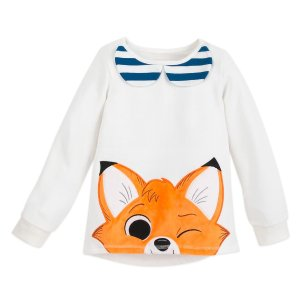 DisneyTod Pullover Top for Girls - The Fox and the Hound - Disney Furrytale friends Collection | shopDisney