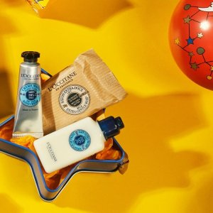 50% OFF Beauty Sets+ FREE 14-Piece Gift @L'Occitane