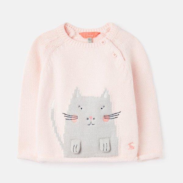 婴儿小猫咪毛衣