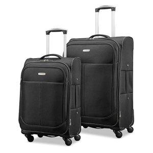 $99.99 (原价$449.99)新秀丽超轻软壳行李箱 2件套 21+29寸行李箱
