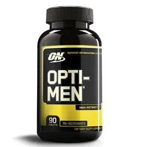 $8.33Optimum Nutrition Opti-Men, Mens Daily Multivitamin Supplement with Vitamins C, D, E, B12, 90 count @ Amazon.com