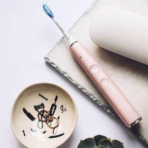 钻石牙刷单支£84,情侣装£152史低价:Philips官网 电动牙刷、冲牙器热促 钻石牙刷好价回归
