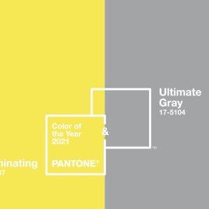 今年这么穿最流行2021 Pantone流行色 - 亮丽黄与极致灰的碰撞