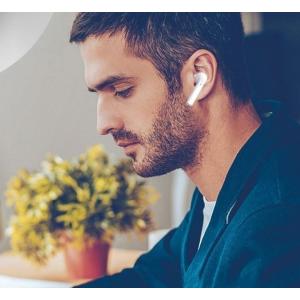 闪购$18.69(原价$99.99)Loayye 无线降噪超轻立体声蓝牙耳机