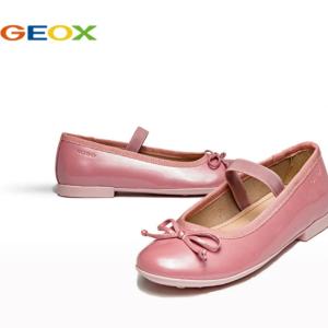 低至$45.5 国内售价¥690-¥790Geox健乐士 大童PLIE蝴蝶结芭蕾舞平底鞋,多色选