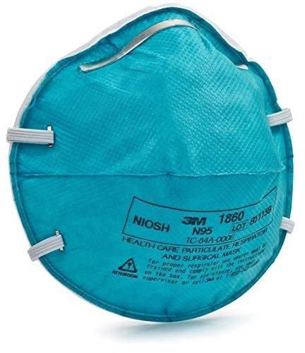 N95 1860 医用防护口罩 20个
