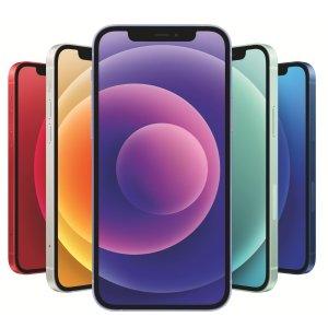 $979起 送$75礼卡最后一天:iPhone 12 / 12Mini 智能手机 多色可选