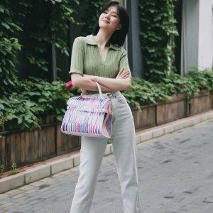 收乔欣封面同款牛仔裤上新:Sandro 2020春夏系列浪漫相约 收小S、景甜、Jennie同款