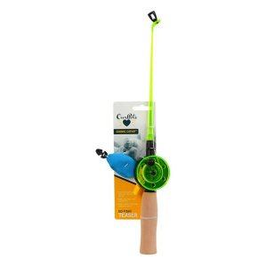 OurPets Go Fish Catnip Teaser Wand Cat Toy - Chewy.com