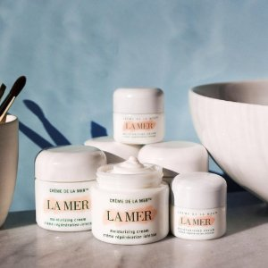Dealmoon Exclusive! Receive Free Deluxe Samplesfeaturing The Small Miracles Collection with $500+ Moisturizers Purchase @La Mer