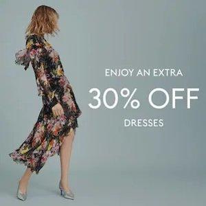 低至3折+额外7折 £80收Maje连衣裙最后一天:THE OUTNET 大牌美裙美鞋闪促 Self Portrait、Maje、MiuMiu超低价入