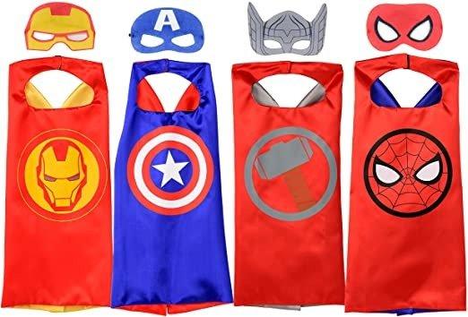 超级英雄斗篷+面具