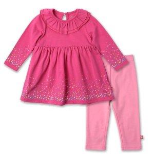 Zutano女婴连衣裙套装
