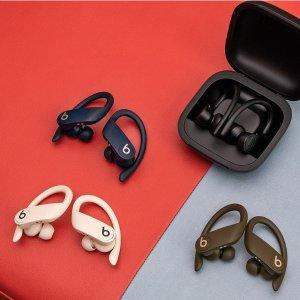 二代AirPods同款H1芯片, 9h播放时长Beats首款 真·无线耳机Powerbeats Pro 发布, 官方售价$329.95