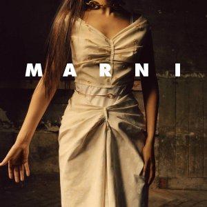 低至6折+额外8折 £924收风琴包Marni 超值惊喜折扣返场 超多明星都爱 风琴 Tote都在线 超好看