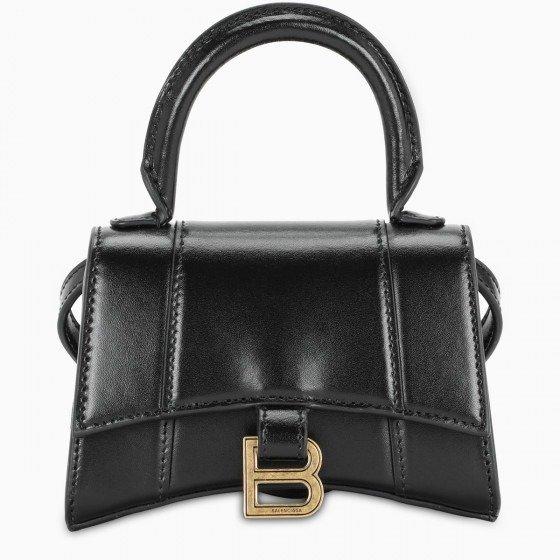 Black/gold mini 沙漏包