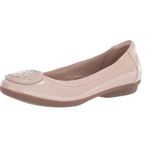 $35.14(原价$105)Clarks 女士温柔玫瑰粉芭蕾舞鞋 US8.5码 断码超快