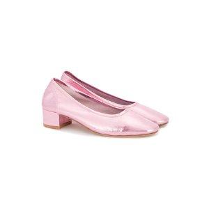 Maryam Nassir Zadeh Pink Metallic Roberta Pumps