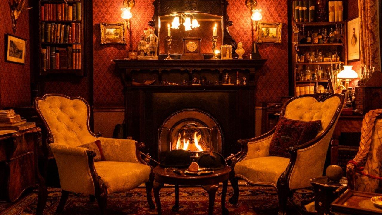 221B福尔摩斯博物馆   带你零距离体验Sherlock Holmes破案环境!