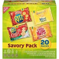 Nabisco 咸味饼干 综合包装 20袋装
