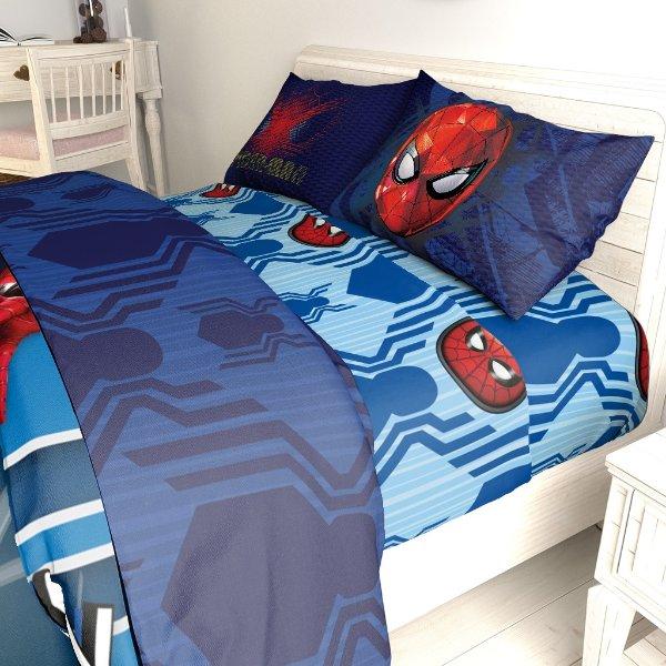 漫威蜘蛛侠单人床单套装