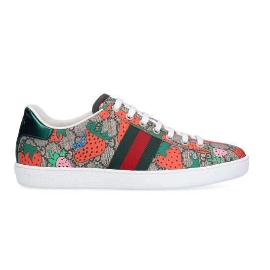 Ladies Ace 草莓老花鞋