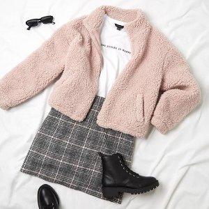 全场7.5折 £14收泰迪熊毛茸茸卫衣New Look 秋冬精选闪促 毛绒绒、软乎乎 让你温暖一秋冬