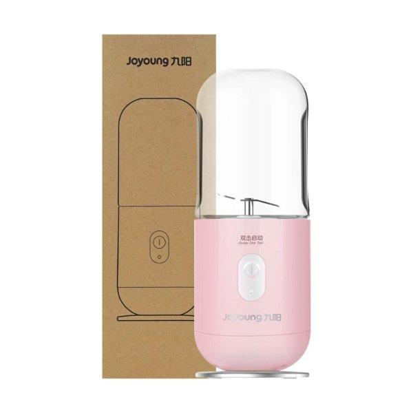迷你破壁简易清洗无线充电随身果汁机 JYL-C902D 粉色 350ml - 亚米网