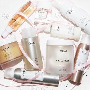 全场7折 $9.8收免洗护发乳延长一天:OUAI 英国小众洗护沐浴系列 收发油、卷发喷雾
