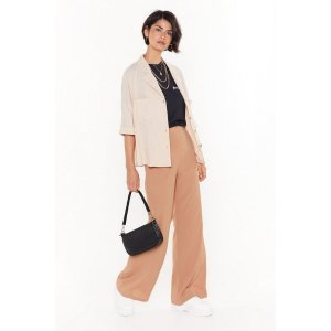 Nasty GalCut Down to Size Linen Wide-Leg Pants | Shop Clothes at Nasty Gal!