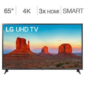 $589.99LG 65吋 4K UHD 超高清 TruMotion 120 HDR电视