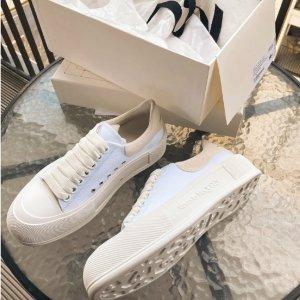 Alexander McQueen39/40码!小白鞋