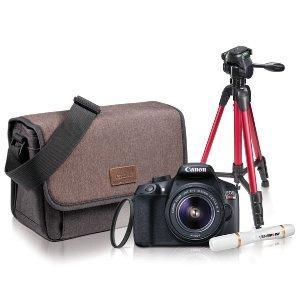 $479(原价$699)Canon Rebel T6相机套装 限时优惠 配件一应俱全