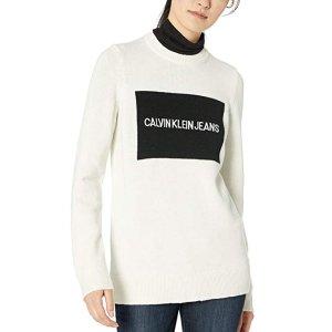 Calvin Klein Women's Logo Sweater @Amazon.com