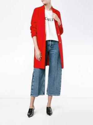 Harris Wharf London 经典红色大衣