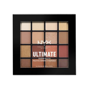 NYX PROFESSIONAL MAKEUP Ultimate Shadow Palette, Warm Neutrals, 0.46 Ounce